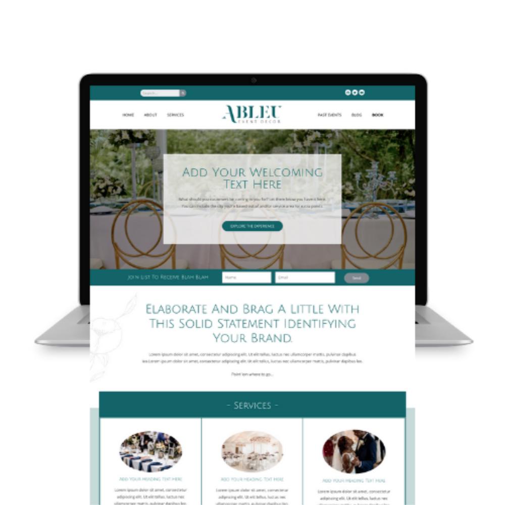 Event Planning Co Website Design