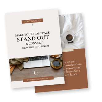 Branding & Web Design for Photographers, Event Planners + Realtors